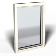 Window, Top 90 Nova Line, 2 Shutters - bim