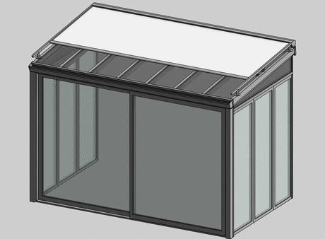 Objeto bim chiari bruno srl serramenti solar greenhouse for Finestra scorrevole revit
