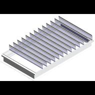 ARCALAM EVOLUPNEU - Costière aluminium - Verre - bim