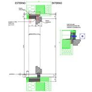Rover Wood Blok - BLS - Finestra - no Zanzariera - bim