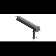 Kit collettore fumi per ampliamento Ø 160 con serrande VICTRIX PRO 35/55 ErP - bim
