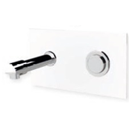 Wall-mounted washbasin tap: PRESTO XT 2000 - P White - bim