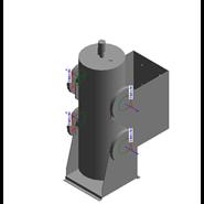 Kit separatore idraulico per caldaie in batteria fino a 350 kW - bim