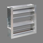SQR - Air volume dampers for rectangular ducts - bim