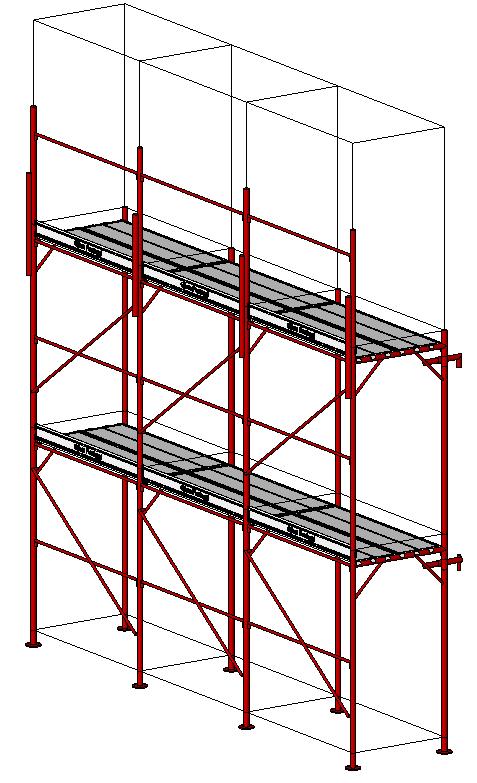 Metal scaffolding 2014 BIM OBJECT: free BIM file downloads e g