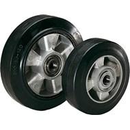 Wheels rubber tyres on die-cast aluminium rims - bim