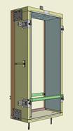 Monoblocco Termoisolante - RoverBlok Scuro_RVRSFC1 finestra - bim