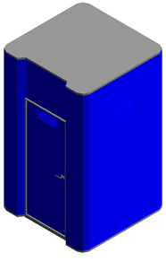 Mobile Toilettenkabine - bim