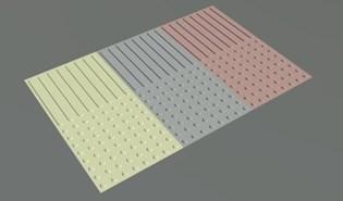 Pavimento tactil APG 01 - bim