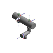 Kit disgiuntore idraulico VICTRIX PRO 35/55 ErP - bim