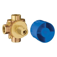 2-Way Diverter Rough-In Valve - bim