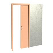 Puerta interior corredera - bim