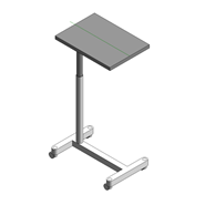 Over Bed Table - bim
