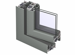 CS 77 Window inward opening Single Vent 33mm - bim