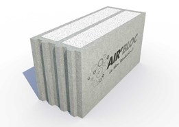 Air'Bloc : Isolating concrete block, low carbon - bim