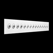 KIS (Micro-jet nozzles linear diffusers) - bim