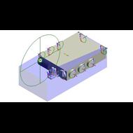 Ventilo-convecteur gainable FUN 80/90 - bim