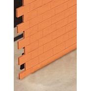 Terracotta dividing wall - bim