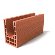 Brique linteau rectifié réservation 15 ht 274 mm - bim