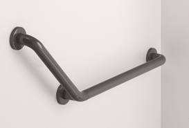 Grab rail, 336 x 336 mm, 135° - bim
