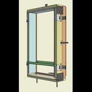 Monoblocco Termoisolante - RoverBlok Scuro_RVRSMC3 finestra - bim