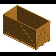 Pallet container - 2t - bim
