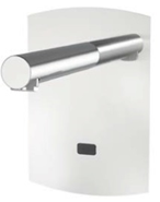 Electronic tap basin: PRESTO DOMO SENSIA - P with Feeder 12V 2 Stainless - bim
