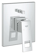 Eurocube Single-lever bath/shower mixer trim - bim