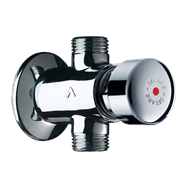 747000 Time flow shower valve TEMPOSTOP - bim