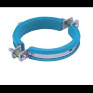 Isophonic pipe clamp flat rubber italsan - bim