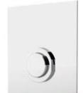 Built-in timed urinal tap: PRESTO XT 2000 - UE Chromo - bim