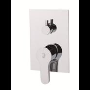 ZIP - Two-way built-in shower mixer tap - bim