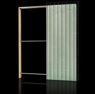 Eco plus Brick wall single opening sp145 - bim