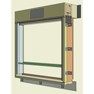 Monoblocco Termoisolante - RoverBlok Avvolgibile_RVRAMC-3 finestra - bim