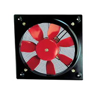 Plate mounted axial flow fans - Compact HCFB Series - Plastic impellers - bim