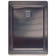 Timed built-in toilet fluxor: PRESTO 1000 A Inox - bim
