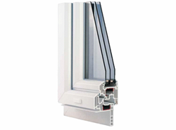PVC restructuring H290 2 swings with sash overlaps 1800x1300 - bim
