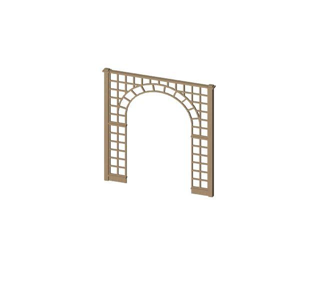 Objet bim arche de jardin t l chargement gratuit de - Telechargement open office 3 2 gratuit ...