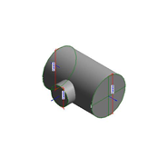 TEXI T-piece - F2A template - bim