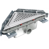 S-792 Linnum triangular floor gully - bim