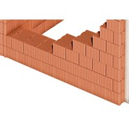 "Brick wall of ""monomur"" structure - bim"