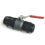 LOCKABLE DOUBLE BALL VALVE - bim