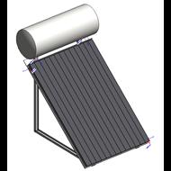 Equipo termosifón para producción de A.C.S. - bim