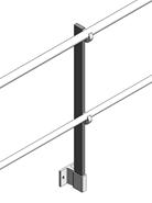 Barrial sabot A60 montant droit - bim
