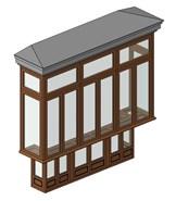 Wooden Bow-Window - bim