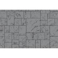 printed series - Large ashlar cut slate  - bim