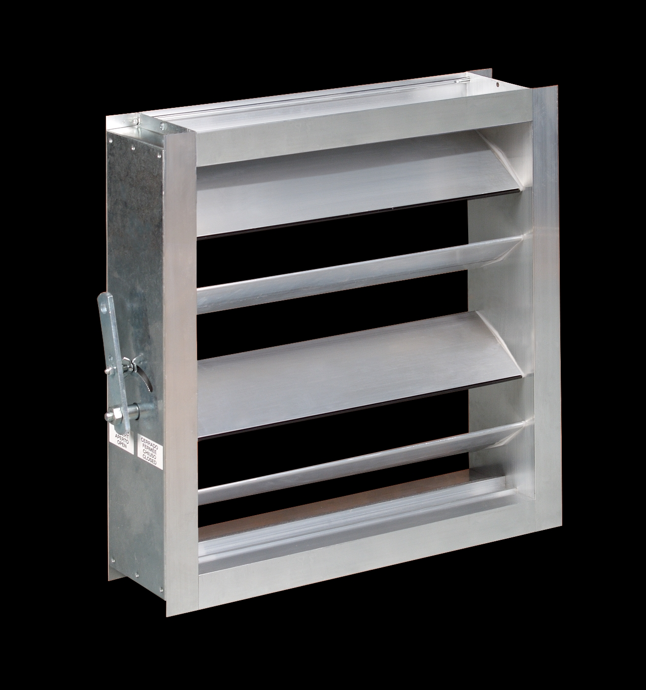 Madel SQR (Air volume dampers for rectangular ducts) BIM