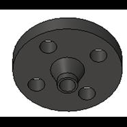 Bride acier à collerette_PN 10_Type 11B - bim