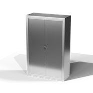 Fixed medicine cabinet - Sliding Curtain - bim