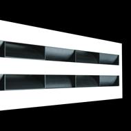 LSD (Sectored linear slot diffusers) - bim